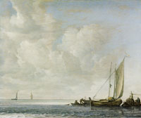 Simon de Vlieger Calm Sea