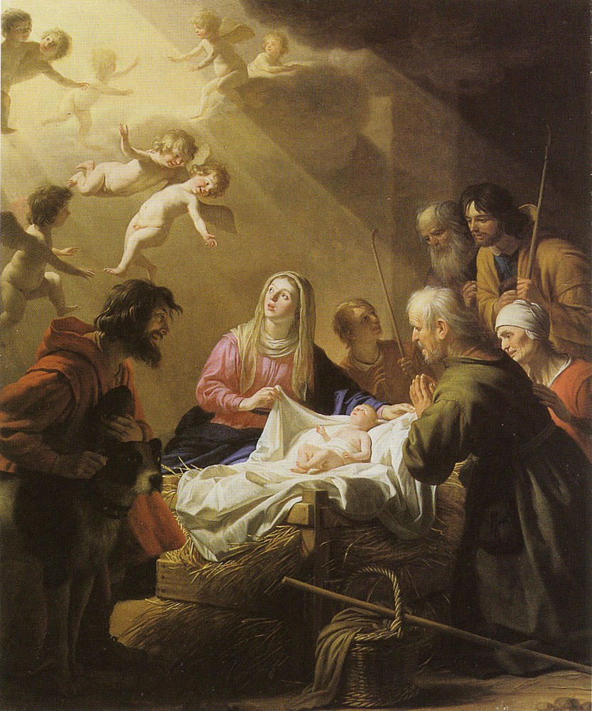 Gerard van Honthorst - The Adoration of the Shepherds