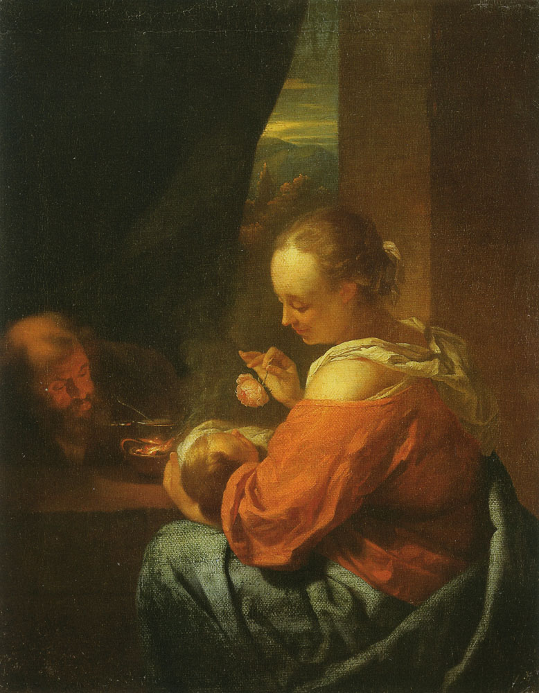 Godfried Schalcken - The Holy Family