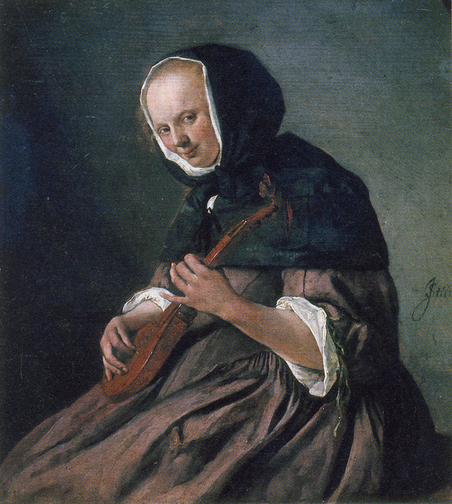 Jan Steen - Woman Playing a Cittern