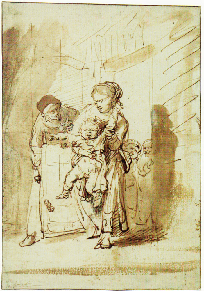 Rembrandt - The Naughty Child