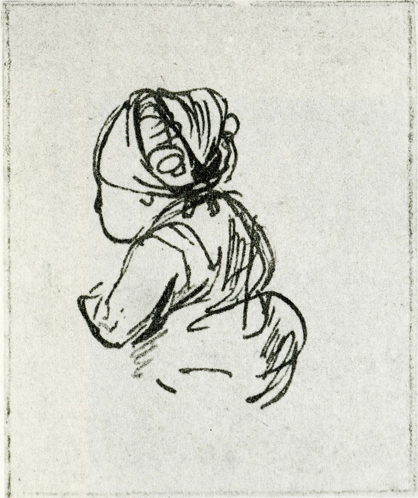 Rembrandt - Study of a Little Child