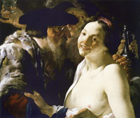 Hendrick ter Brugghen Unequal Lovers
