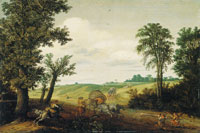 Cornelis Hendricksz. Vroom and Esaias van de Velde The Highway Robbery