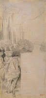 Edgar Degas after Benozzo Gozzoli Three Pages