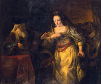 Ferdinand Bol Esther and Mordocai