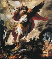 Francesco Maffei - St Michael the Archangel Defeating Lucifer