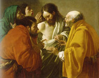Hendrick ter Brugghen The Incredulity of St Thomas