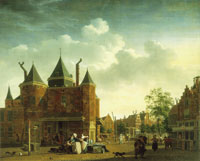 Isaac Ouwater the Younger View of the Sint Anthoniswaag in Amsterdam