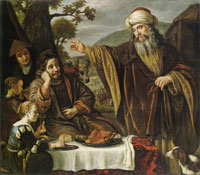 Jan Victors Abraham's Parting from the Family of Lot