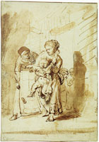 Rembrandt The Naughty Child
