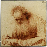 Rembrandt Seated Old Man