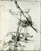 Rembrandt The Beheading of St. John the Baptist