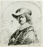 Rembrandt Self-Portrait in a Soft Hat