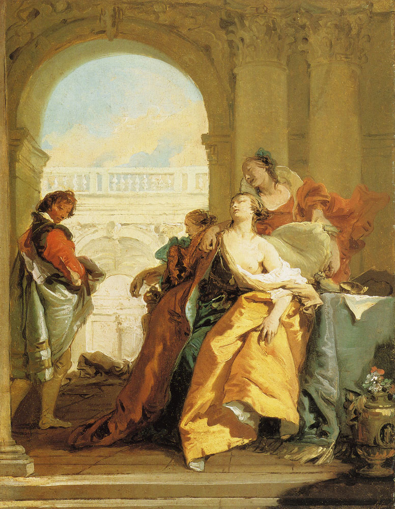 Giovanni Battista Tiepolo - The Death of Sophonisba