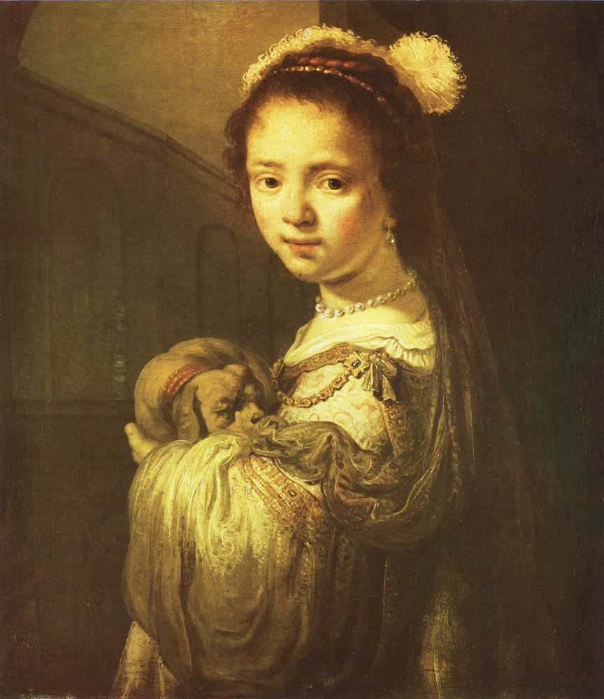 Govert Flinck - Girl in a fantasy costume