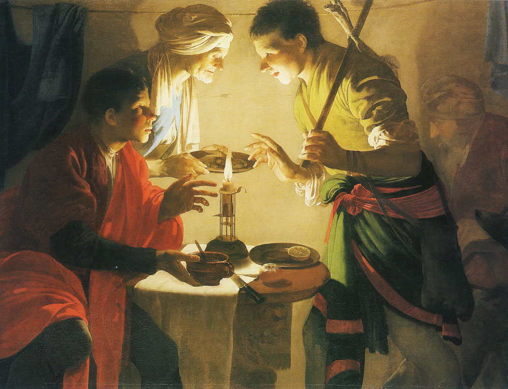 Hendrick ter Brugghen - Esau selling his birthright