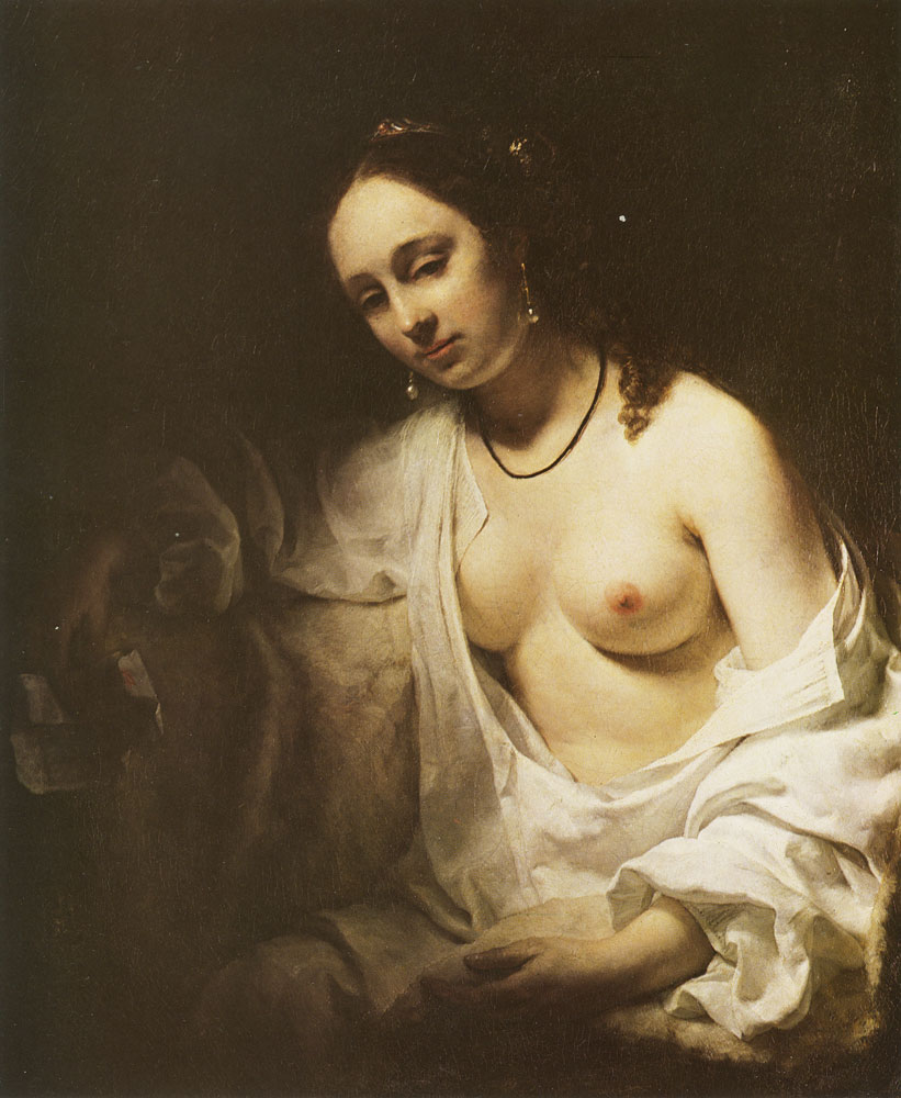 Willem Drost - Bathseba with David's Letter