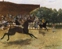 Edgar Degas The False Start