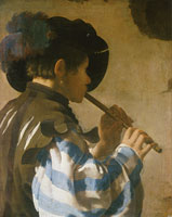 Hendrick ter Brugghen Fife Player (Facing Right)