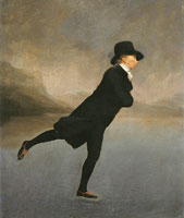 Henry Raeburn - The Revd Robert Walker, 'The Skating Minister'