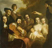 Jacob Backer Family Portrait with John the Baptist
