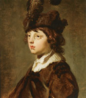 Jacob Backer Portrait of a Boy