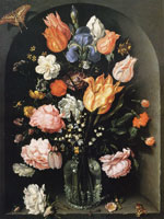 Jacob de Gheyn the Younger - Glass with flowers