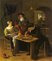 Jan Steen Tavern scene