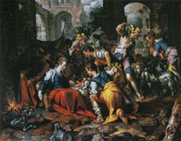 Joachim Wtewael Adoration of the Shepherds