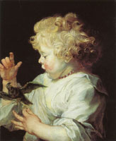 Peter Paul Rubens Child with Bird