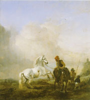 Philips Wouwerman The Untamed Horse