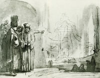 Rembrandt Mattathias and the Officers of Antiochus at Modin