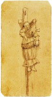 Rembrandt - A Woman Hanging on a Gibbet