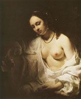 Willem Drost Bathseba with David's Letter
