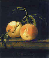Willem van Aelst Two Peaches