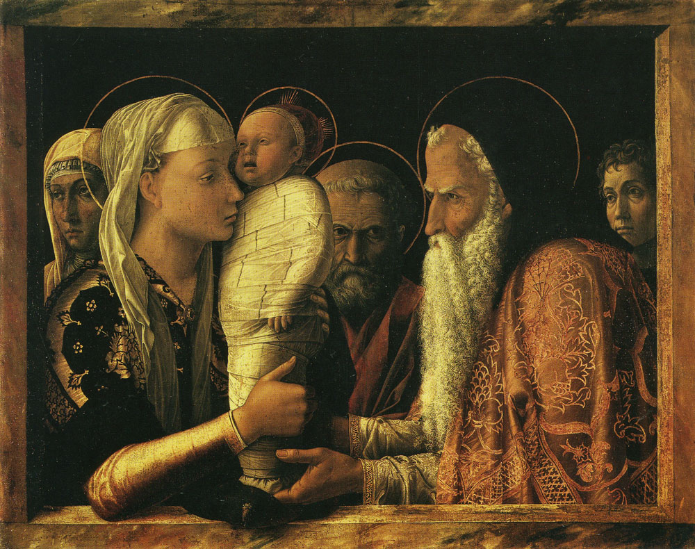 Andrea Mantegna - The Presentation of Christ in the Temple