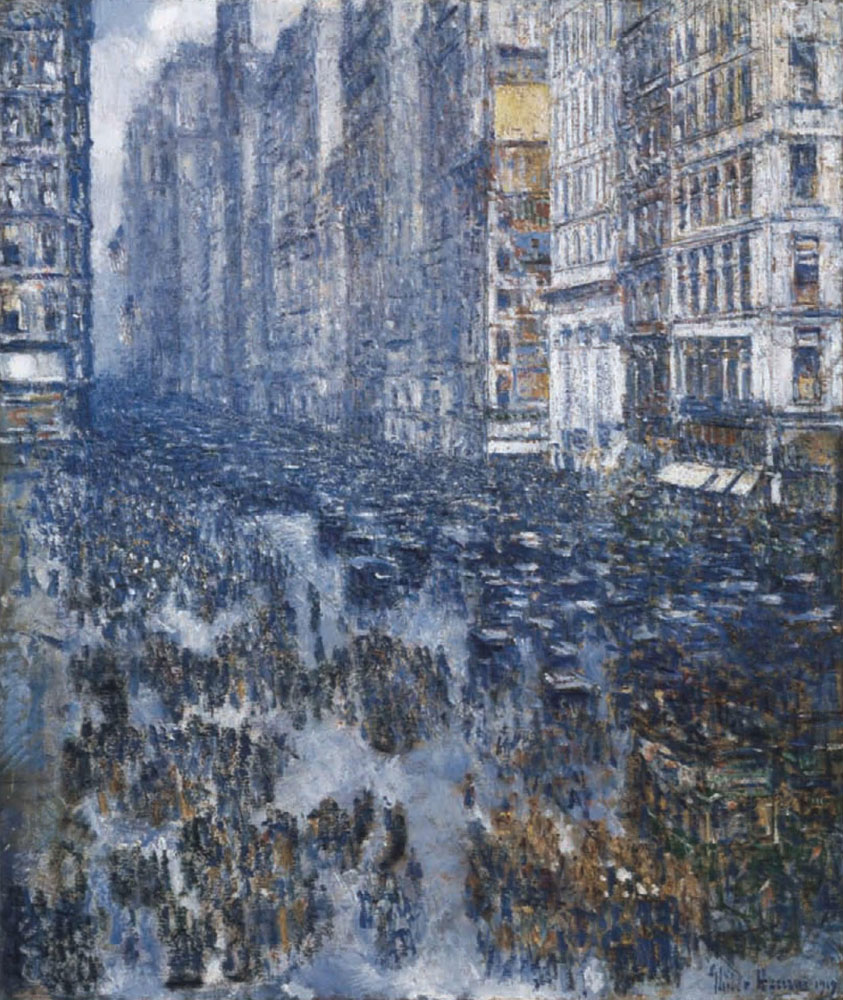 Childe Hassam - Fifth Avenue