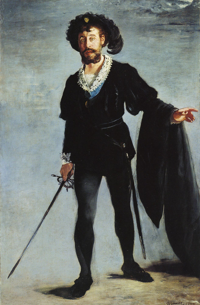 Edouard Manet - Faure in the Role of Hamlet