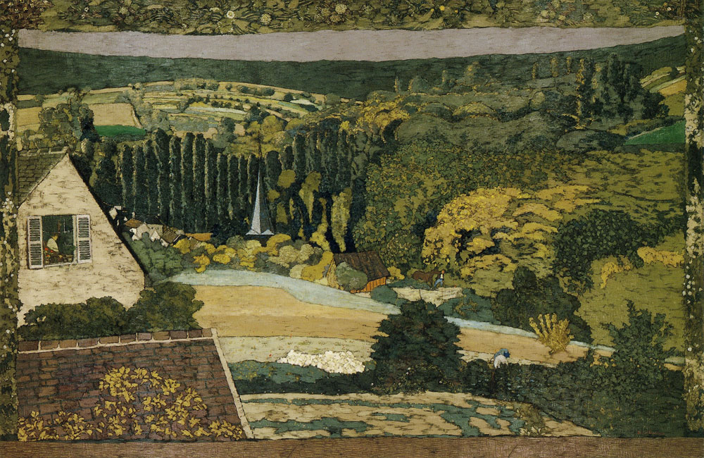 Edouard Vuillard - Landscape: Window Overlooking the Woods