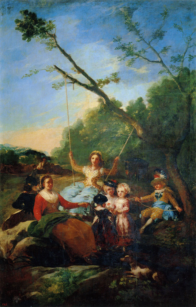 Francisco Goya - The Swing