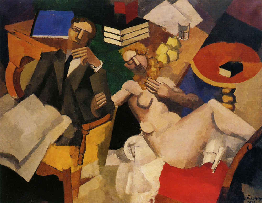 Roger de la Fresnaye - Married Life