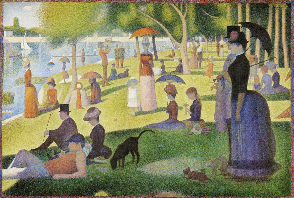 Georges Seurat - A Sunday on La Grande Jatte - 1884