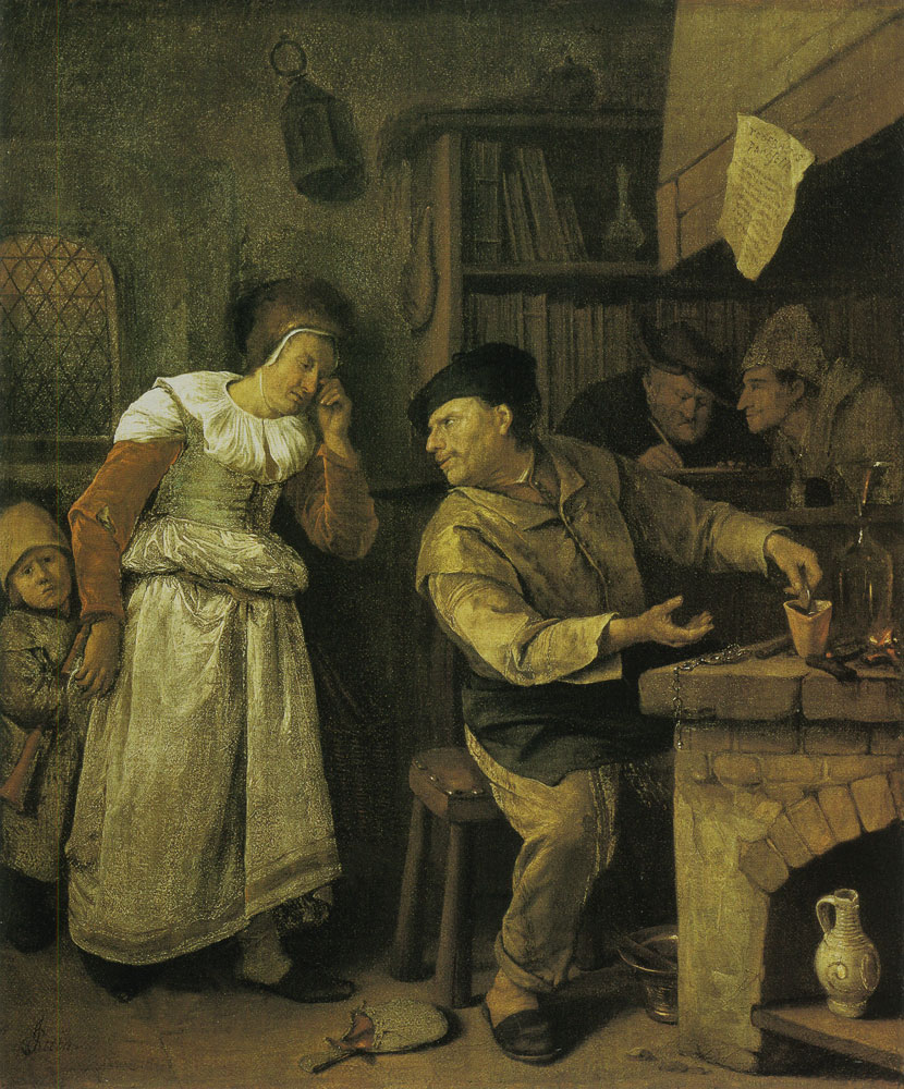 Jan Steen - The Alchemist