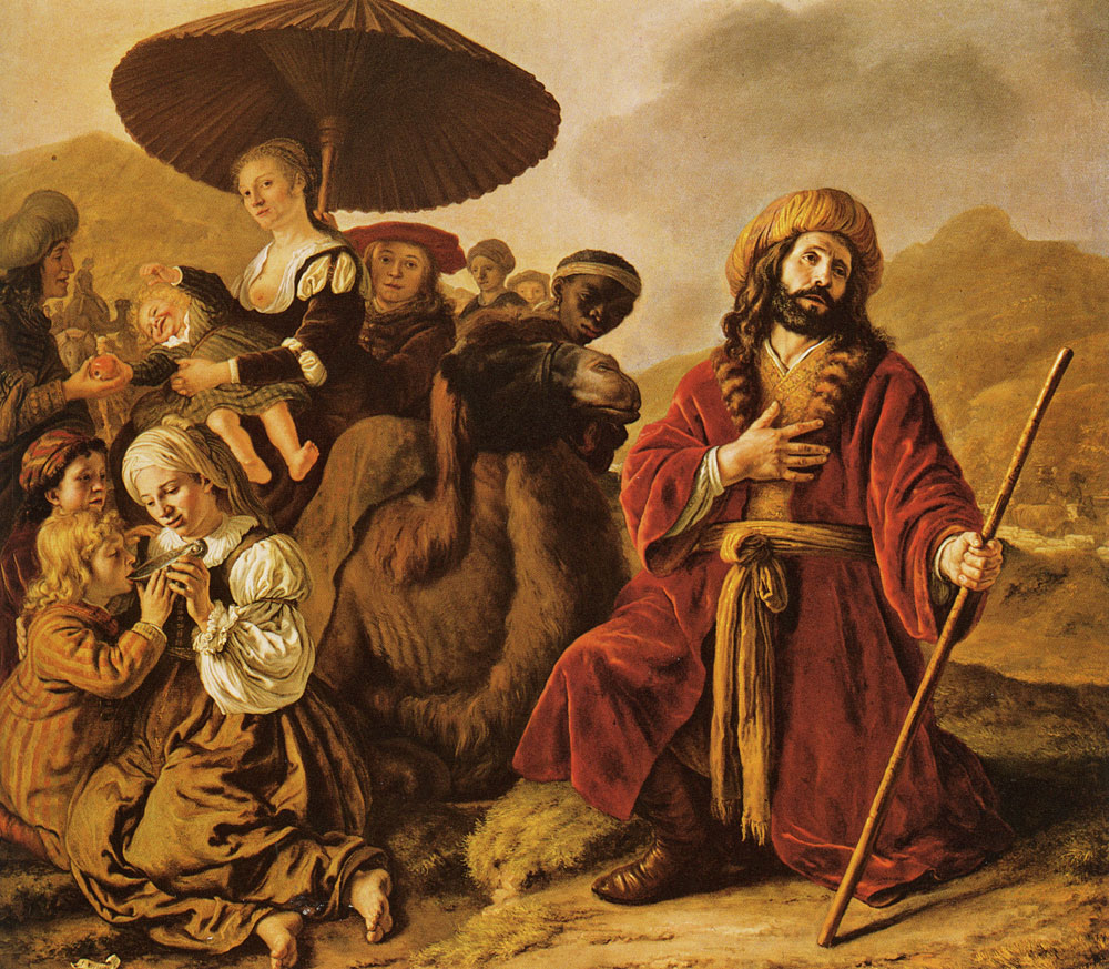 Jan Victors - Jacob and his family before meeting Esau