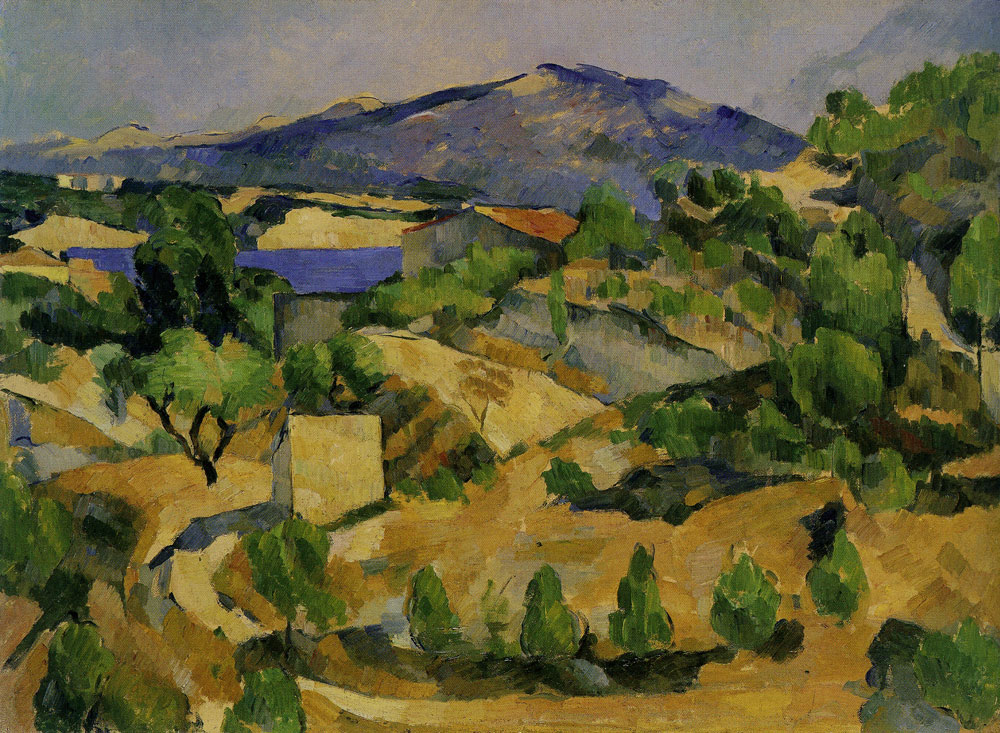 Paul Cézanne - Midday in L'Estaque