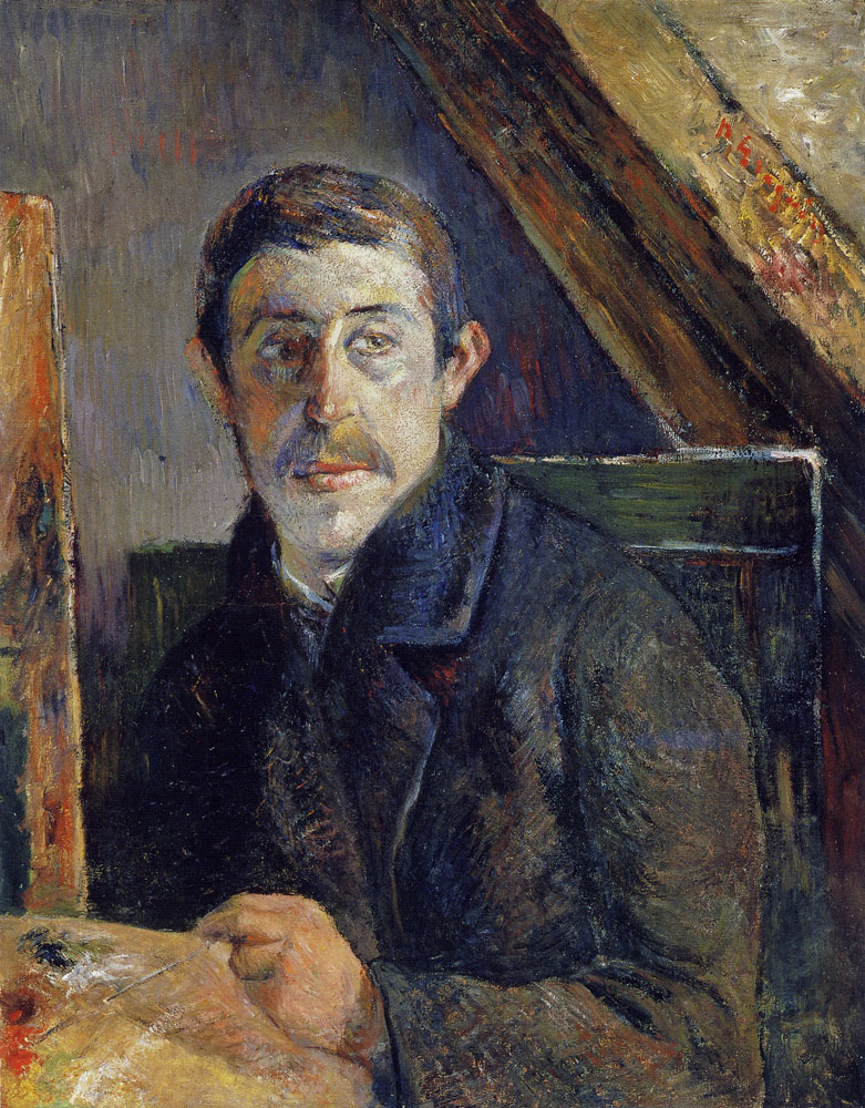 Paul Gauguin - Self-Portrait at the Easel
