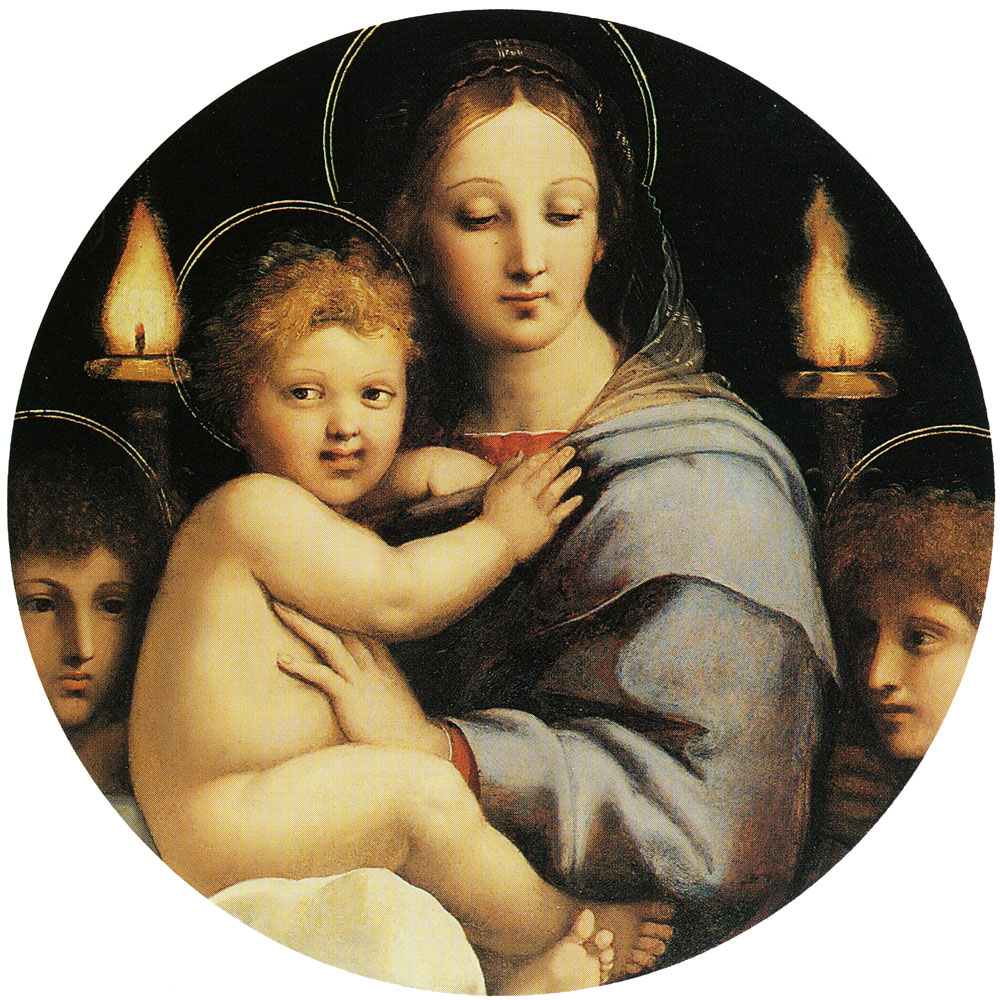 Raphael and workshop - Madonna of the Candelabra