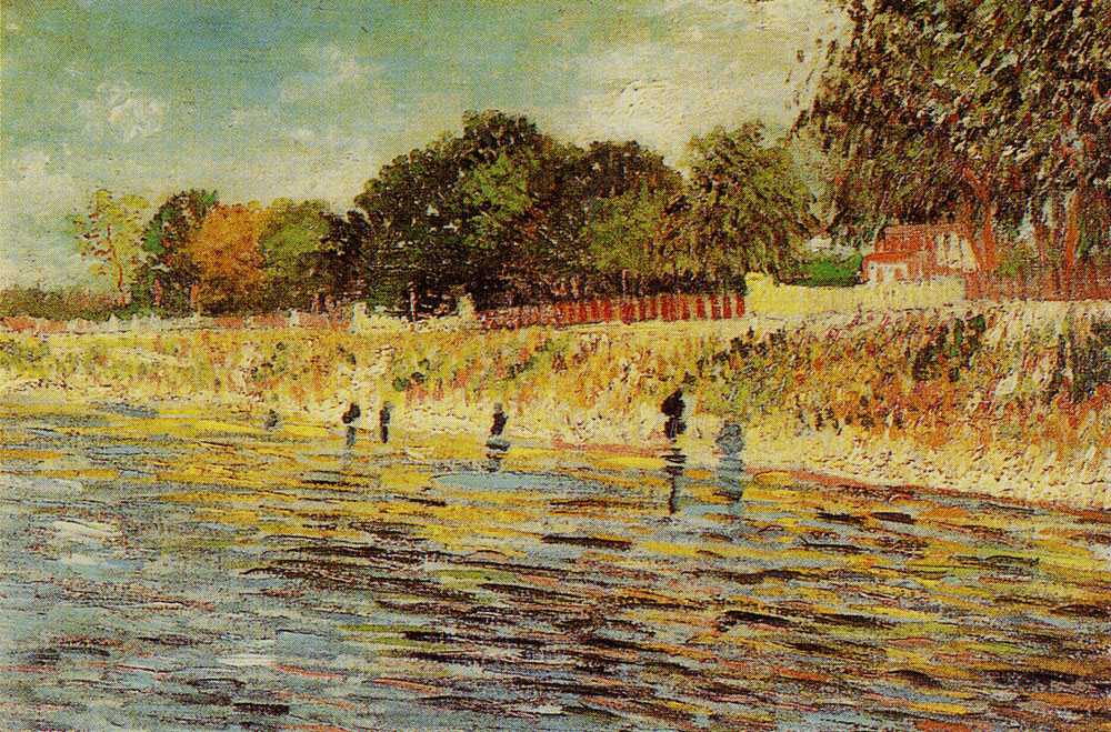 Vincent van Gogh - Bank of the Seine