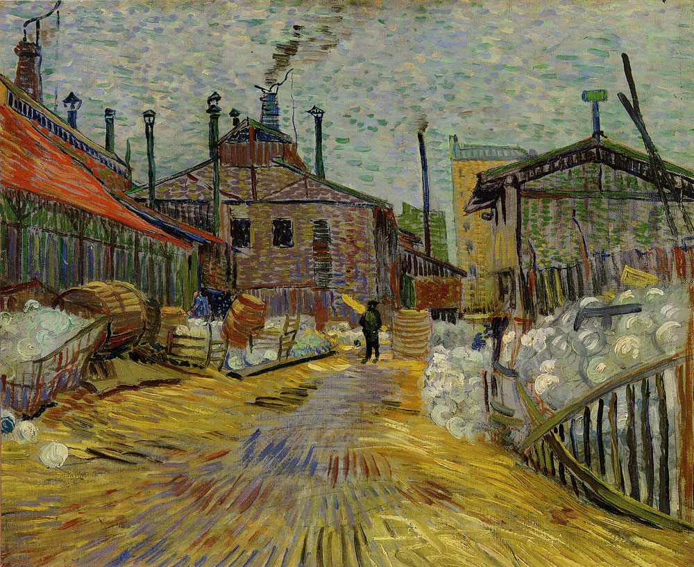 Vincent van Gogh - A factory at Asnières